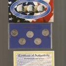 2002-P US Statehood Quarter Mint Set