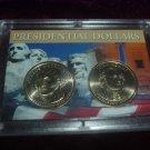 2007 Dual Presidential Dollar Set