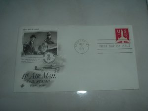 Air Mail Coil Stamp FDC