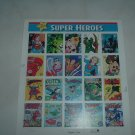 One Block of Super Heroes Lot-S-4