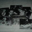 Eight 5x7 B&W Unused Post Cards