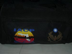 10 x 18 Heavy-Dury Zippered Canvas Sports Bag