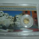 UNC Solid Gold St. Gaudens Ft. Knox Gold Coin