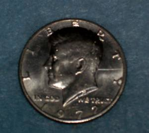 BU 1972 -P Kennedy Half Dollar