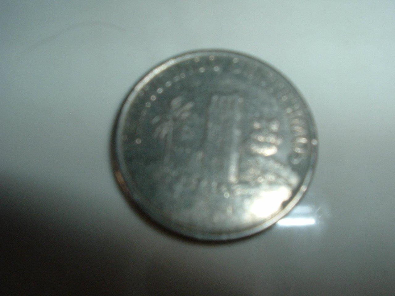 Panama 25 Centavos Coin