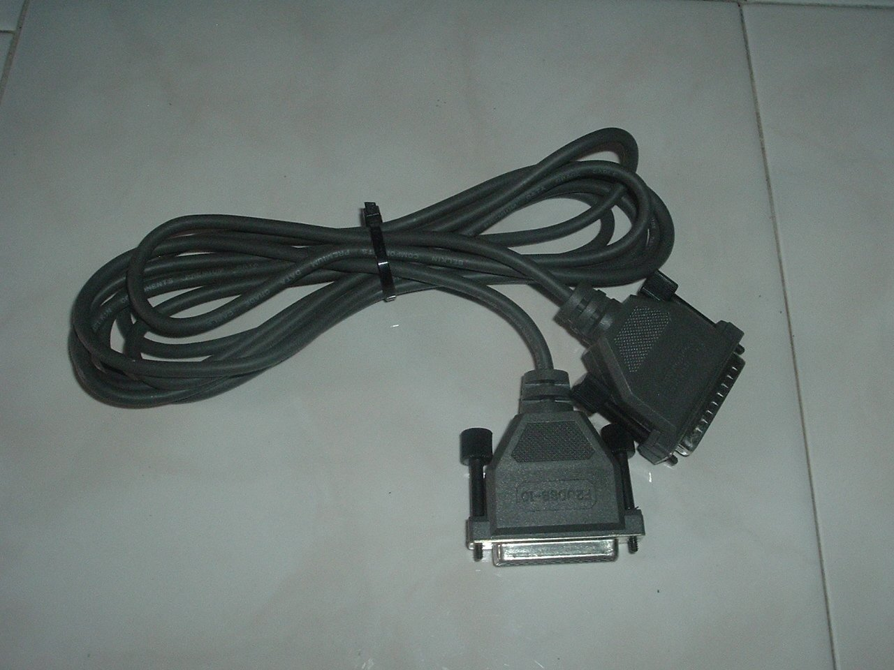 25 pin Male/Female D Type Computer Cable