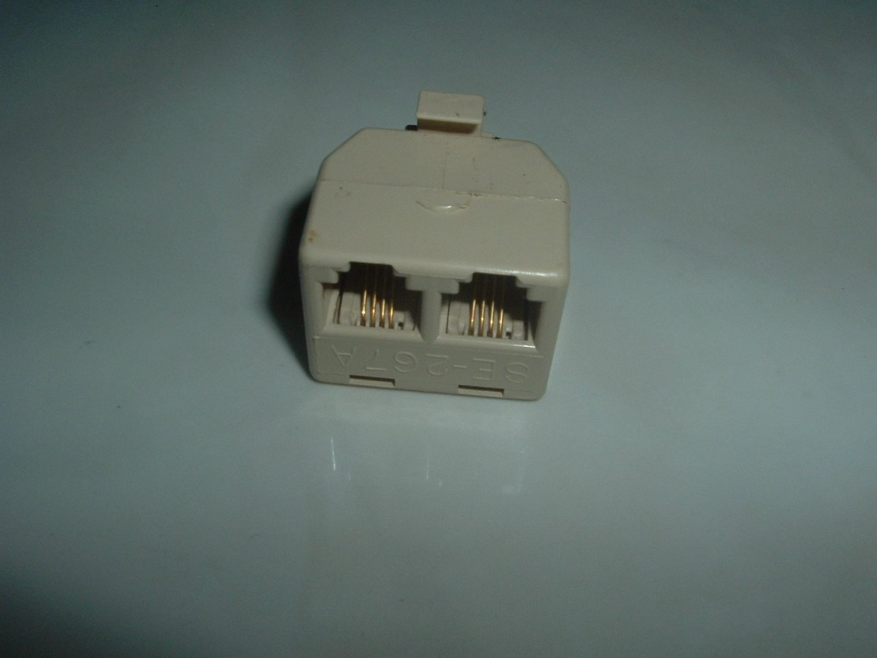 Dual Phone Jack Connector - NEW