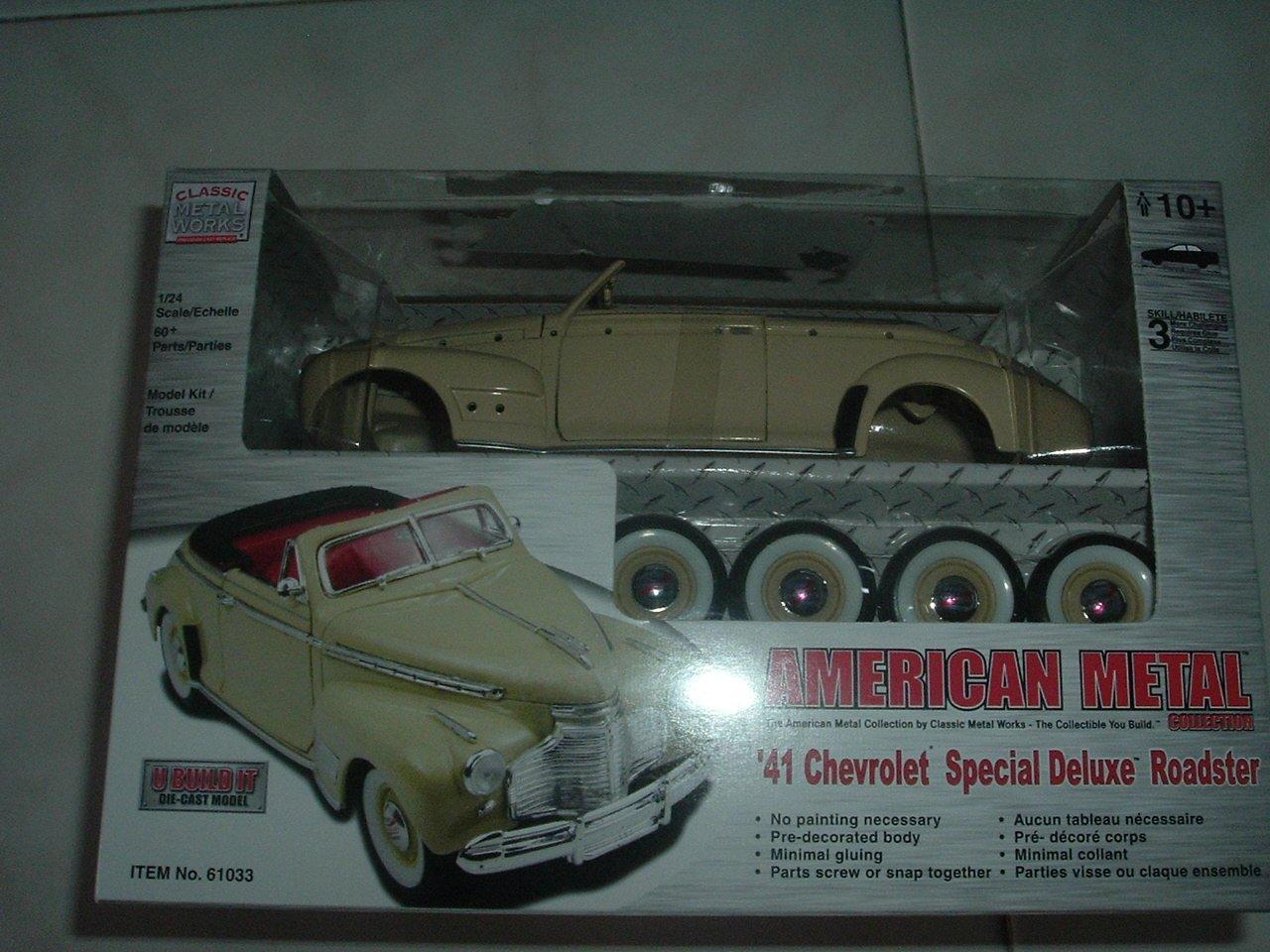 Die-Cast Metal 41' Special Deluxe Roadster Model Kit