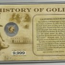 2010 History Of The California Gold Rush Collection