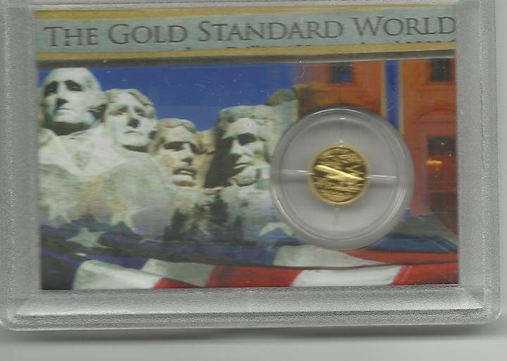 "Proof Solid Gold ""Spirit Of St. Louis"" Collection"