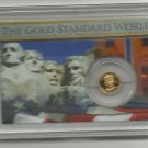 2011 Proof Solid Gold Ronald Reagan Collection