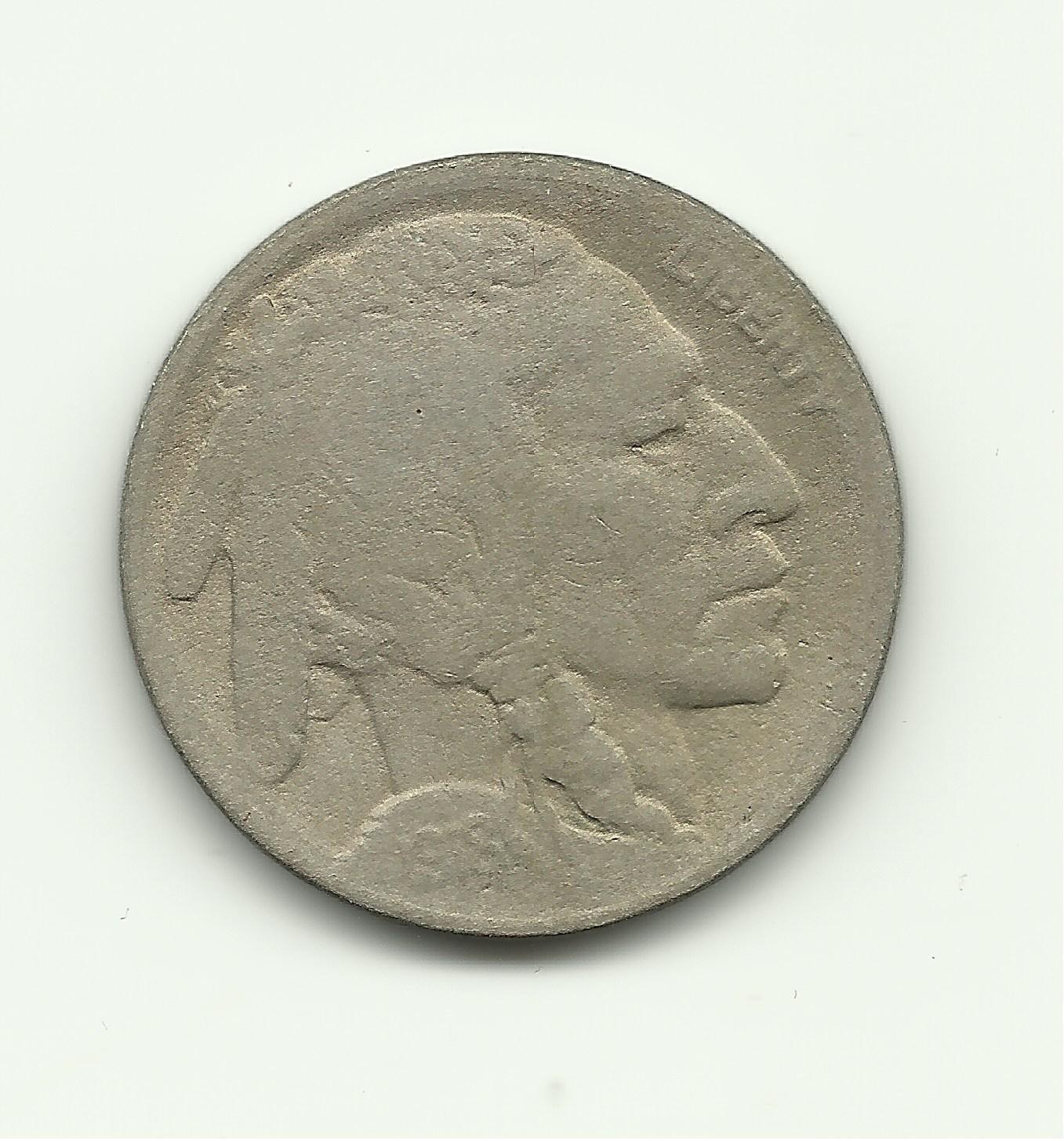 1918-D #2 Buffalo Nickel