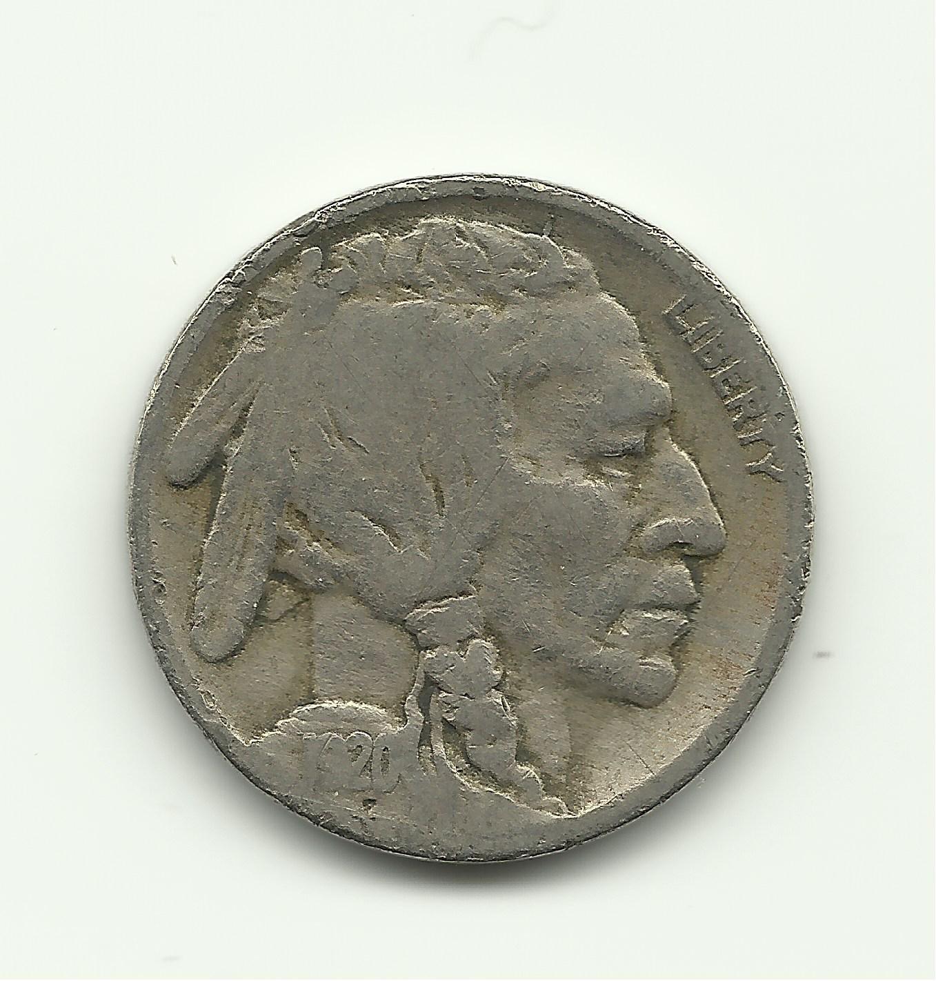 1920 #7 Buffalo Nickel
