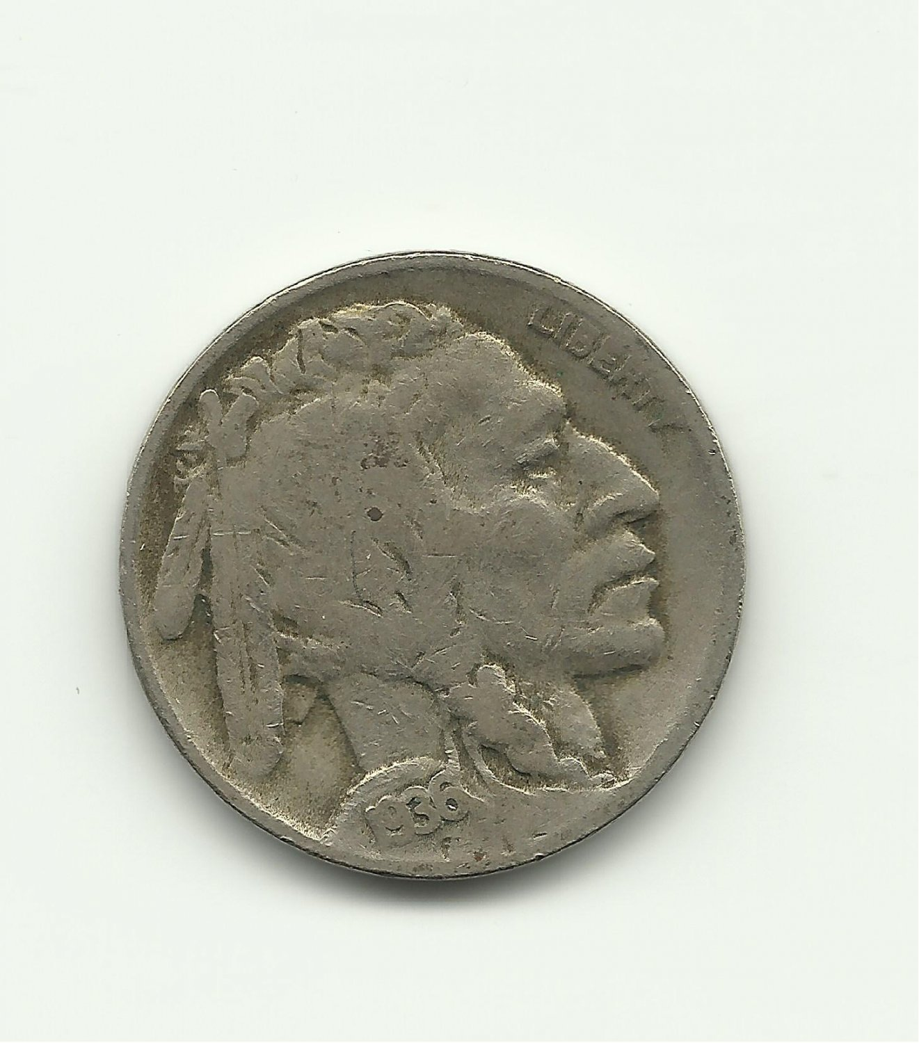 1936-D #2 Buffalo Nickel