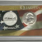 AU-50 1958-D Silver Washington Quarter Set
