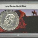 1859-1969 Mexican Cinco Peso Commemorative Silver