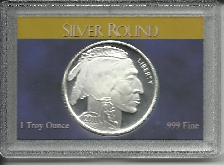 2011 Proof 1 Troy Oz. .999 Silver