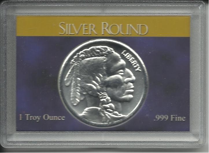 2010 1 Troy Oz. Indian Head Silver