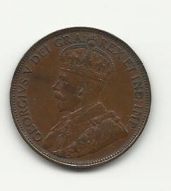 1920 #2 Canadian one cent