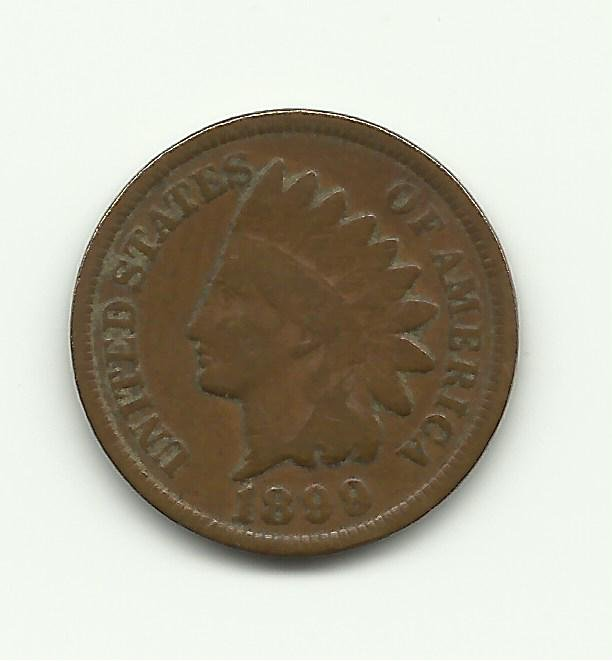 1899 #1 Indian Head Cent