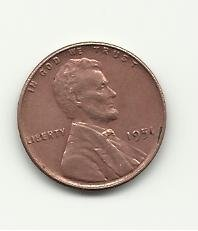 1951 #2 Lincoln Cent