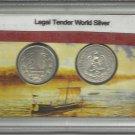 1934 & 1937 AU Mexico's Silver 20 Centavos Collection