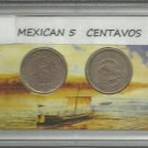 1936 and 1937 Mexico 5 CENTAVOS Collection