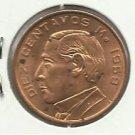 1959-Mo  #2  Unc.  10 Centavos - Mexico