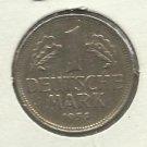 1954-F Germany 1 MARK , RARE Key DATE
