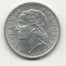 1949 Gem BU Unc. 5 Franc from France.