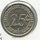 1980 Suncruz $0.25 Gaming Token