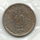 1946 #2 Unc. Mexico 10 centavos