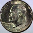 1977-D #1 Unc. Ike Dollar.
