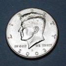 BU 2003-D Kennedy Half Dollar.