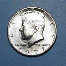 BU 1972-D Kennedy Half Dollar.