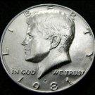 BU 1981-P  Kennedy Half Dollar.