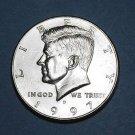 BU 1997-D Kennedy Half Dollar.