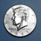 BU 1999-D Kennedy Half Dollar.