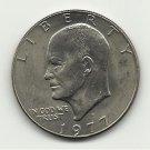 1977-D #2  UNC.  Ike Dollar.