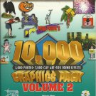 10,000 photo, clip art and sound effects in this Graphics Pack CD