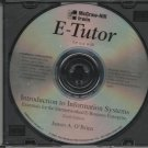 E-Tutor: Intro to Information Systems CD