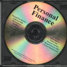 Personal Finance software CD.