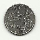 2005-D #1 AU Oregon Statehood Quarter