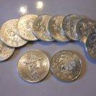 1968 Gem BU Mexican Silver 25 Pesos 19th Olympics