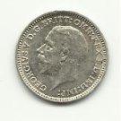 1932 #1 Gem BU  3- Pence  Silver - Oak Sprig Reverse