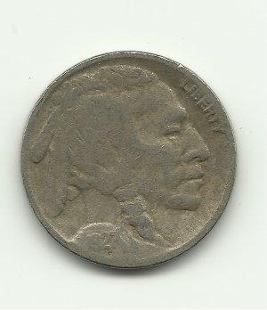 1927 #3 Buffalo Nickel