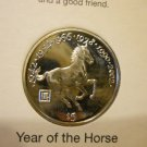 2000 The Year of The Horse Coin