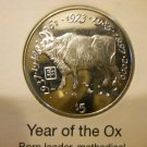 2000 The Year of The Ox Coin