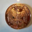 Gem BU 2012 Quarter Design One  OZ.  Copper Bullion Coin