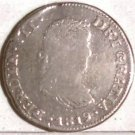 1819-AG  Mexico Silver  2 - Reale.
